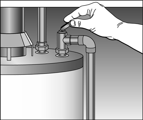 Test the Temperature & Pressure Relief Valve Once a Year